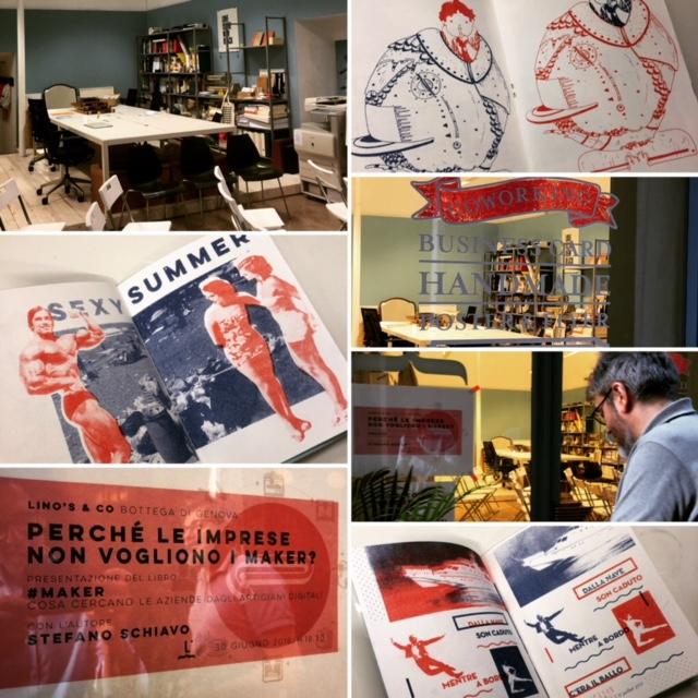 La presentazione di Maker in Lino's & Co Genova