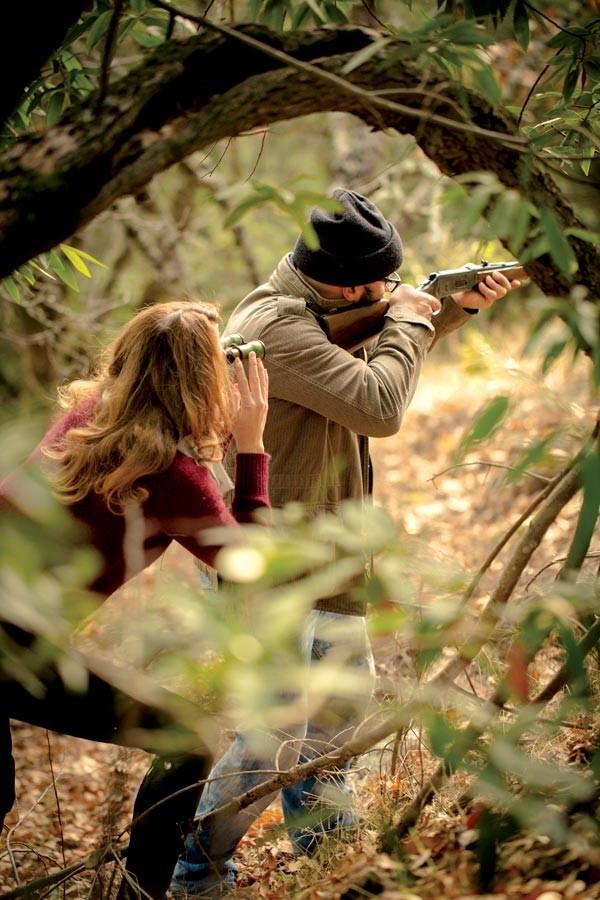 Michael Pollan a caccia