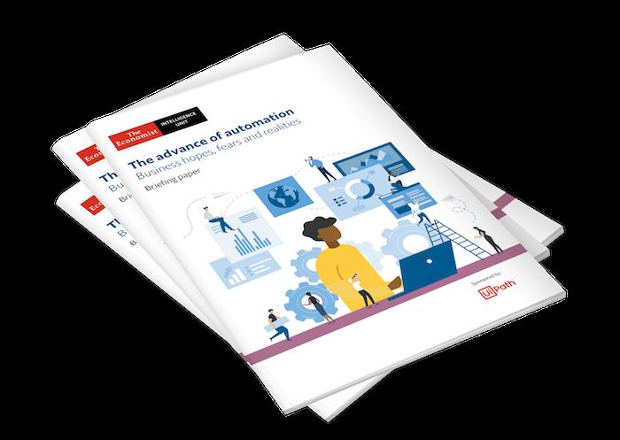Il Report EIU che mostra i risultati del sondaggio attorno all'atteggiamento del manager nei confronti dell'automazione.